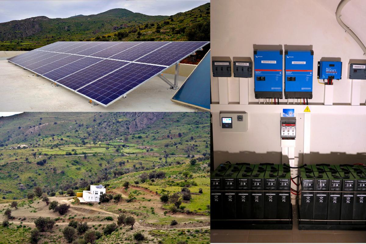 OFF-GRID PV SYSTEM IN AGIA GALINI, RETHYMNO [5.04kW]