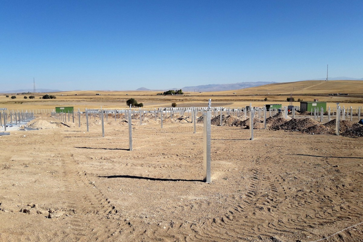 2,6 MW PHOTOVOLTAIC STATION IN AKSARAY, TURKEY