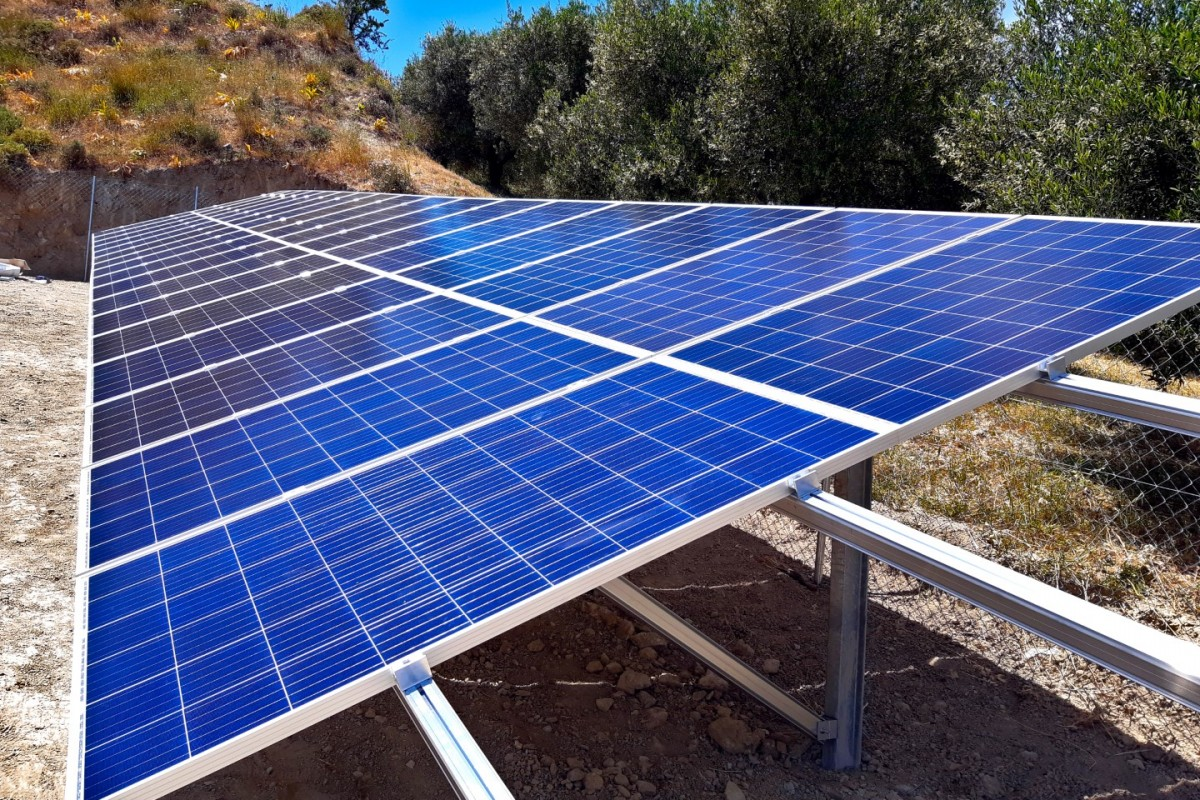 OFF-GRID SOLAR PUMPING SYSTEM IN KASTELLI, MOIRES [9,5KW]