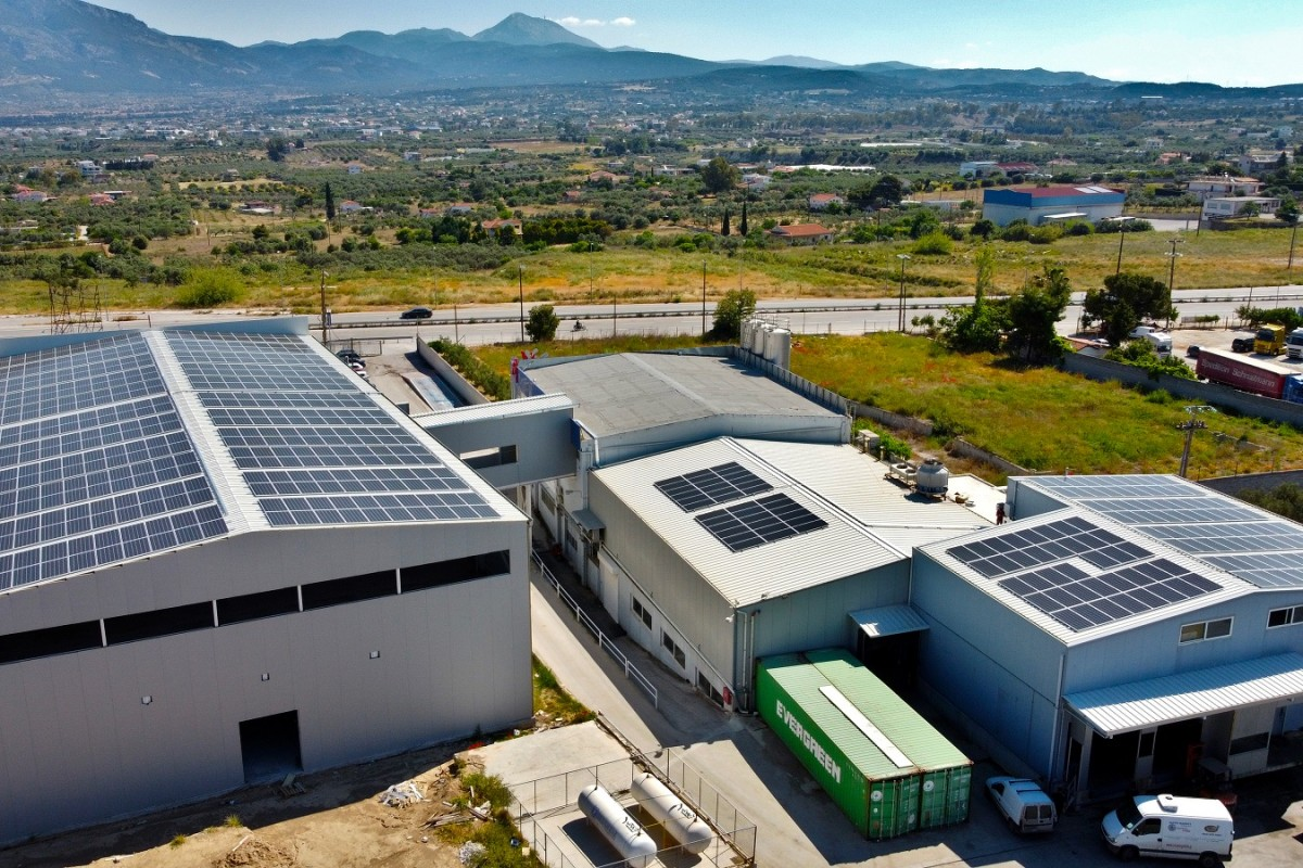 NET METERING INSTALLATION OF 225KW ON A DAIRY PRODUCT FACILITY IN KORINTHOS