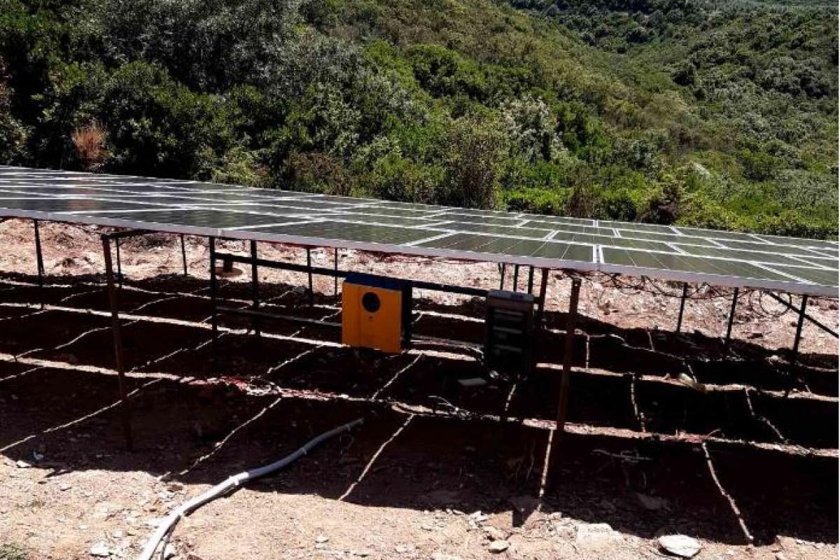 OFF GRID SOLAR PUMPING SYSTEM POLYGYROS - CHALKIDIKI [32,3 kW]