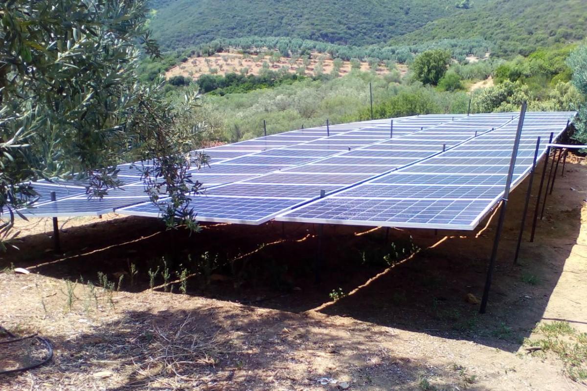 OFF GRID SOLAR PUMPING SYSTEM VRASTAMA POLYGYROS - CHALKIDIKI [19,04 kW]