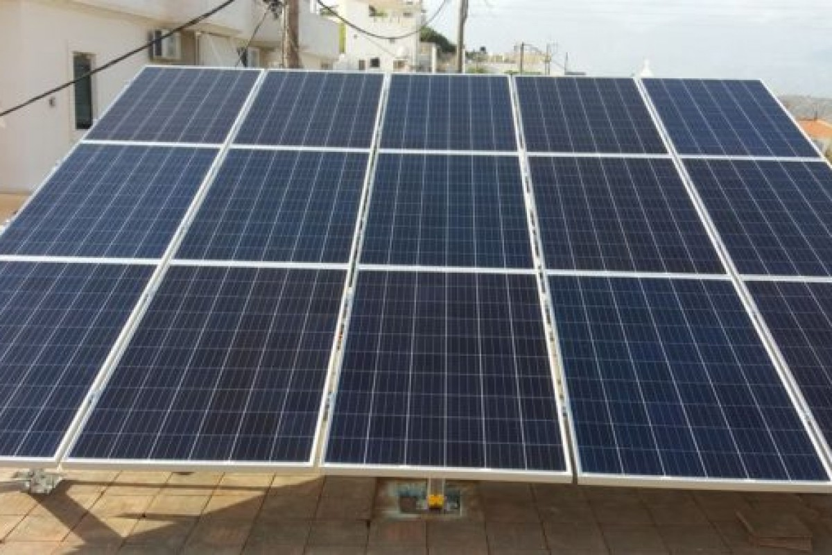 HOTEL,4KW PHOTOVOLTAIC NET METERING SYSTEM