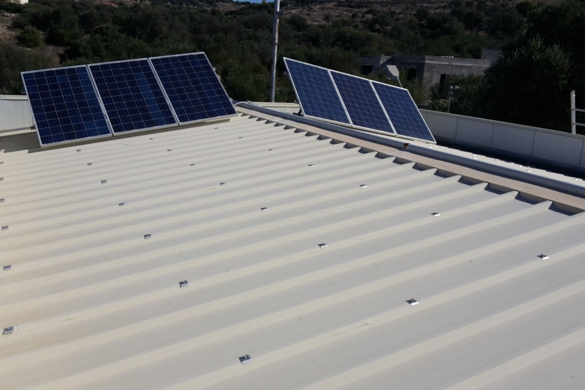OFF-GRID PV SYSTEM IN KALAMAKI, HERAKLION [1.2 kW]
