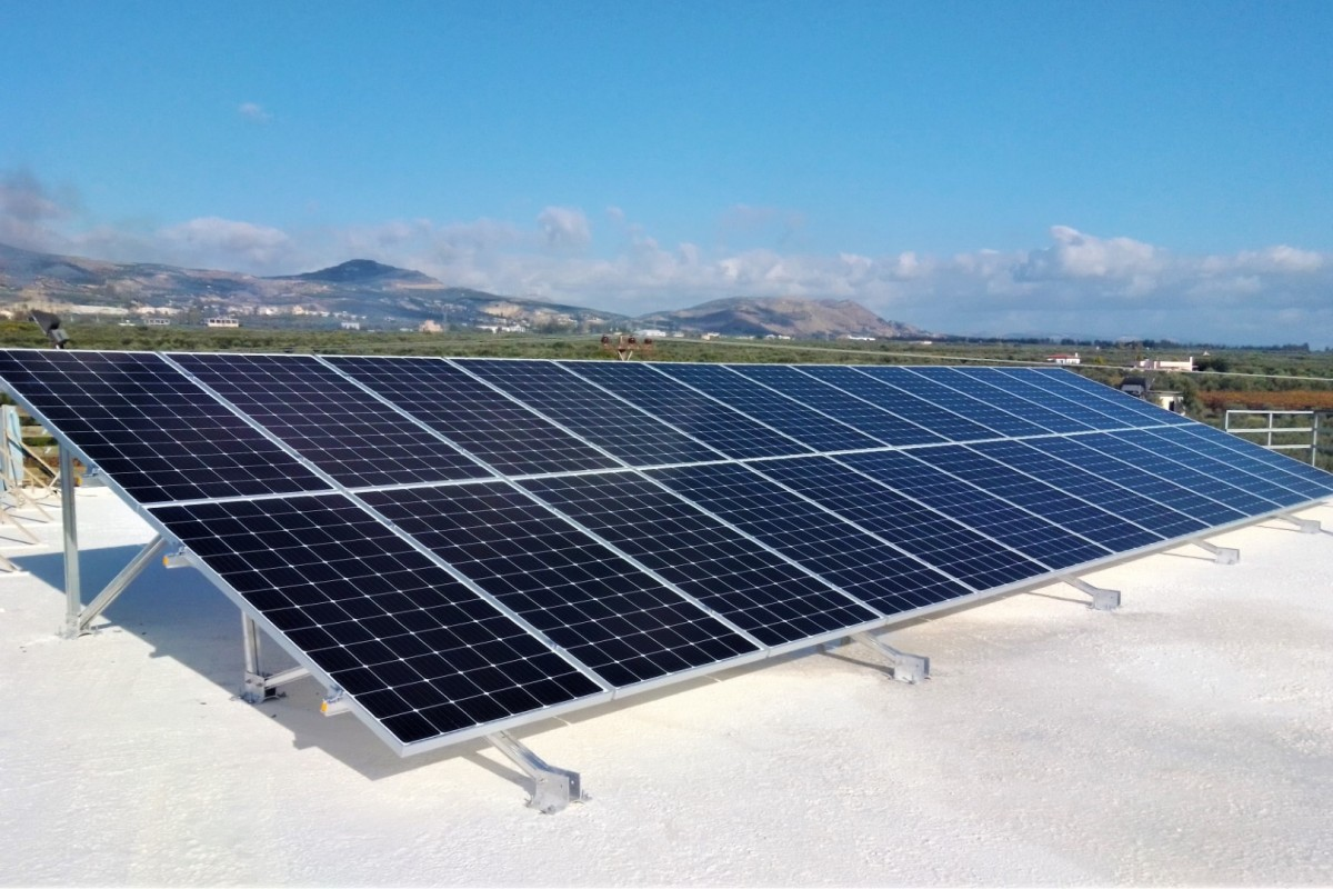 NET METERING INSTALLATION OF 10KW ON AN AGRICULTURAL CENTER