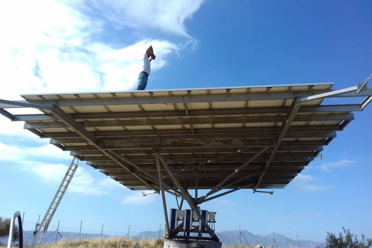 INSTALLATION OF ANTI-PID04-3 SYSTEM IN SOLAR FARM WITH TRACKER - 20kW