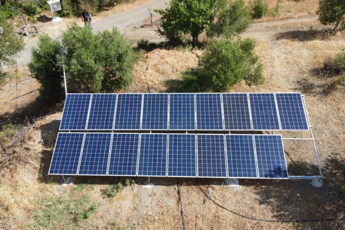 OFF GRID SOLAR PUMPING SYSTEM - MITROPOLI MOIRES - HERAKLION [4,76KW]