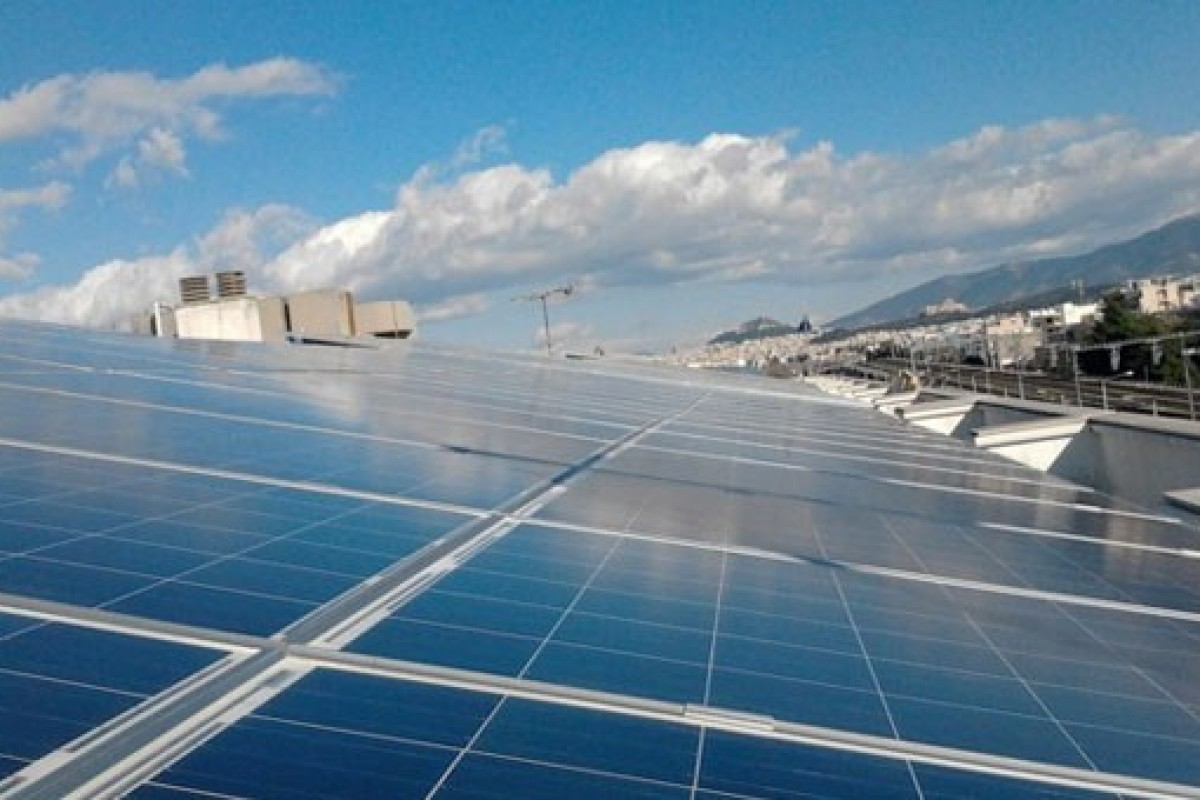 INDUSTRIAL ROOF, 100KW PHOTOVOLTAIC STATION
