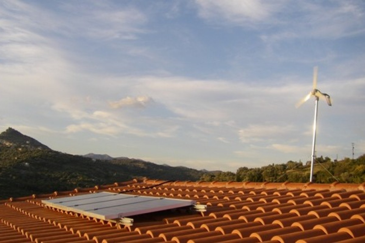 OFF GRID SYSTEM IN OXILINTHOS, EVIA