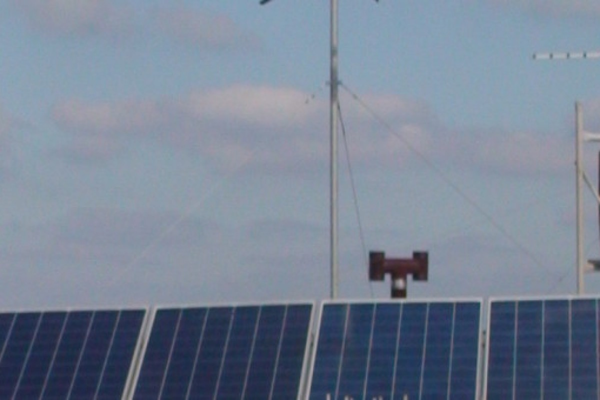 GROWING OF AUTONOMOUS SYSTEM WITH 400W WIND GENERATOR