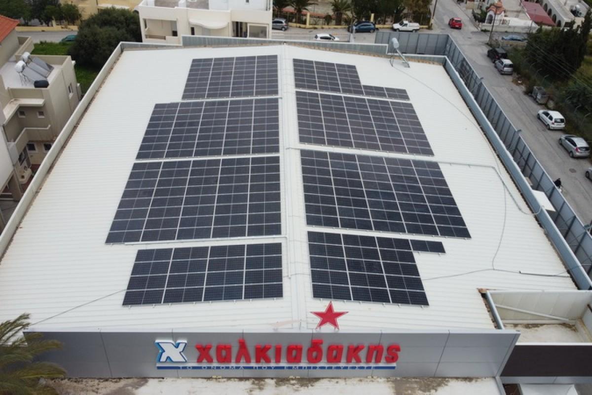 XALKIADAKIS : CONCLUSION OF 100 KW AGREEMENT FOR NET METERING