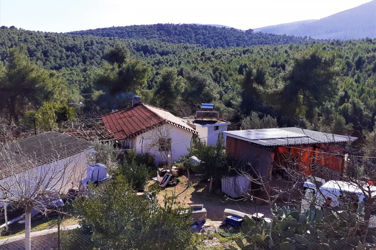 OFF-GRID PV SYSTEM IN KORINTHOS [1.68kW]
